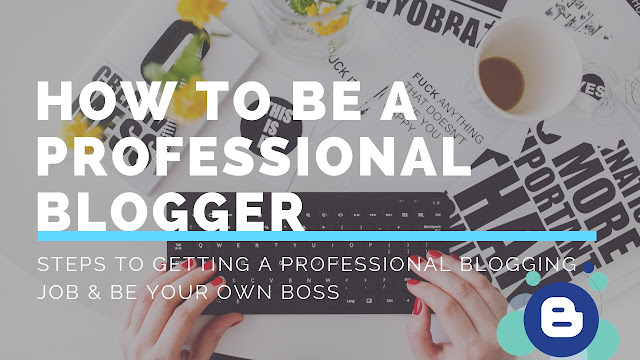 How To Be a Professional Blogger
