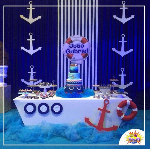 101 fiestas fiesta al estilo n utico - Decoracion de barcos ...