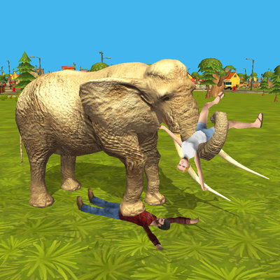 Ultimate Elephant Rampage 3D