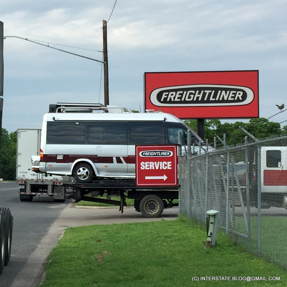 THE INTERSTATE BLOG: TOWING AN UPFIT T1N SPRINTER: YOU NEED