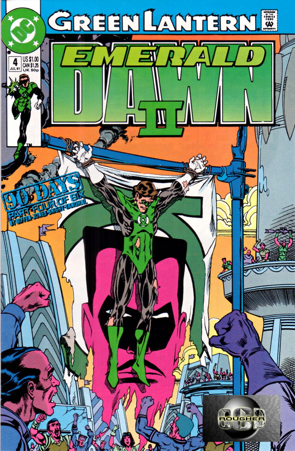 Green Lantern: Emerald Dawn II 4 Page 1