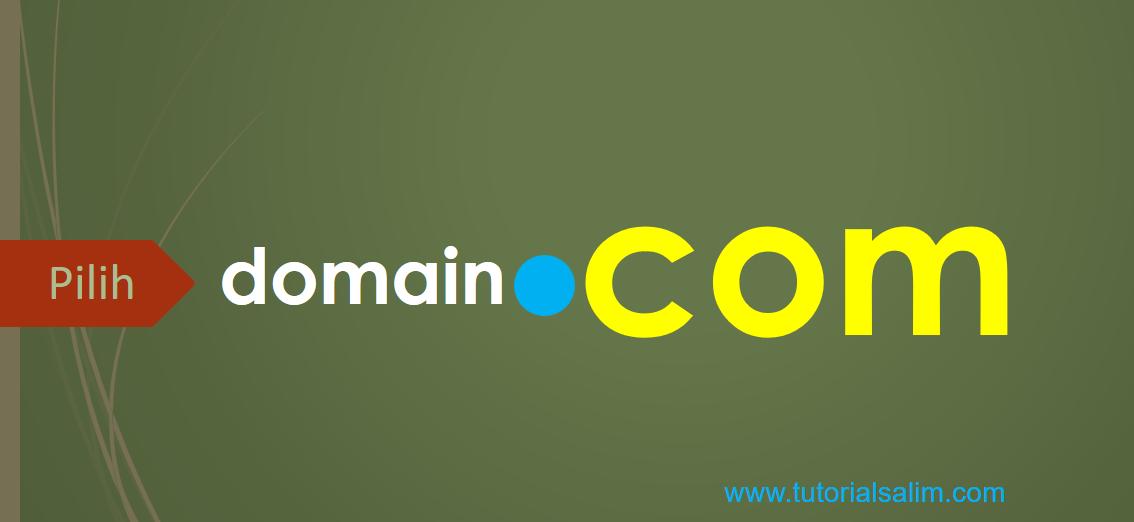 pilih domain