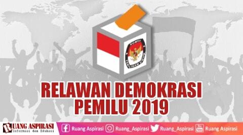 Rekrutmen relawan demokrasi Pemilu 2019