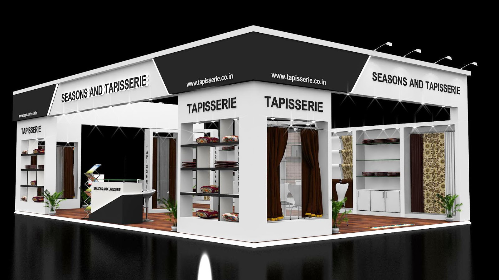 Exhibition Stall Arrangements : Custom exhibition stall design in dubai