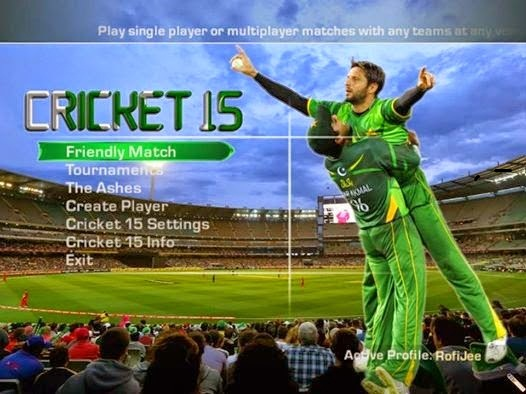 EA Sports Cricket PC Game Full Version Free Download