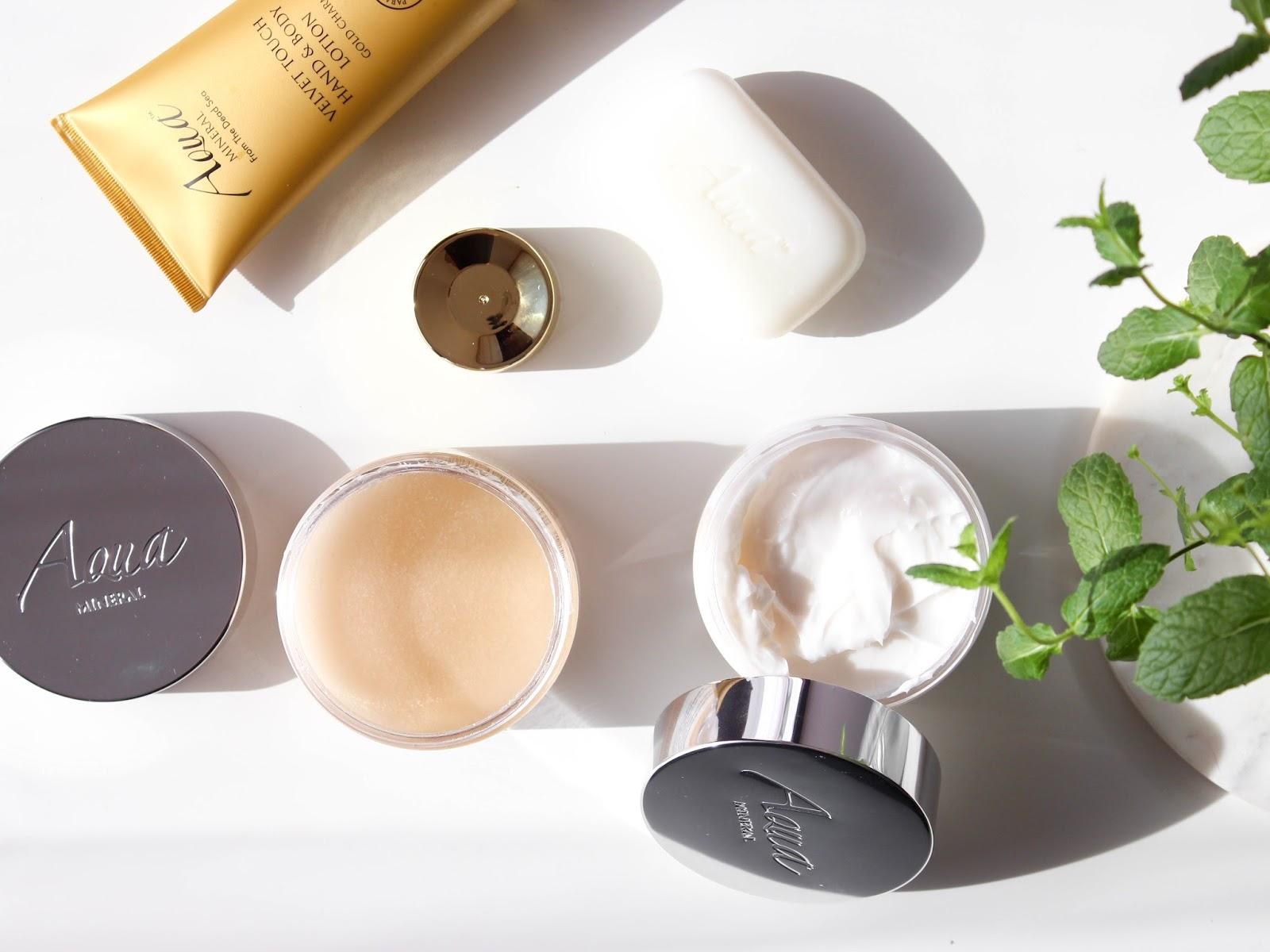 blog nákupy pr balíčky aqua mineral péče o tělo