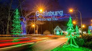 Gatlinburg Smoky Mountain Lights