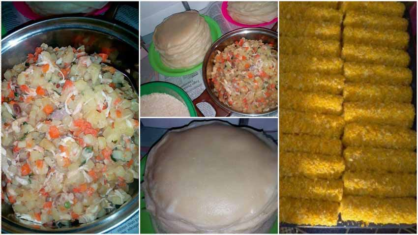 Resep Membuat Risoles Full Isi Sayuran