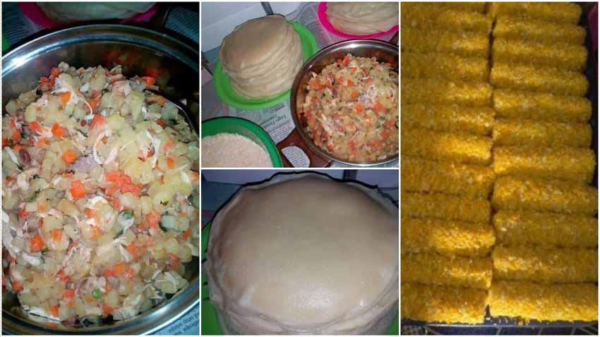Resep Membuat Risoles Full Isi Sayuran