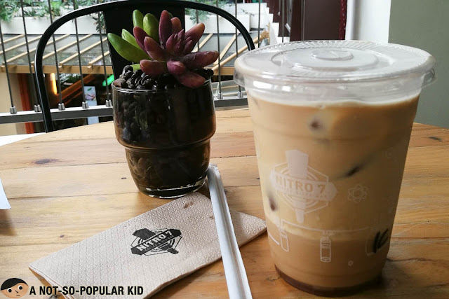 Nitro7's Nitrogen-Infused Cold Brew Coffee