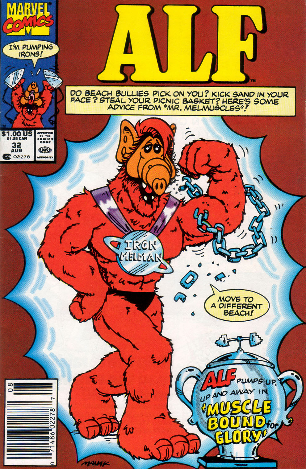 Read online ALF comic -  Issue #32 - 1