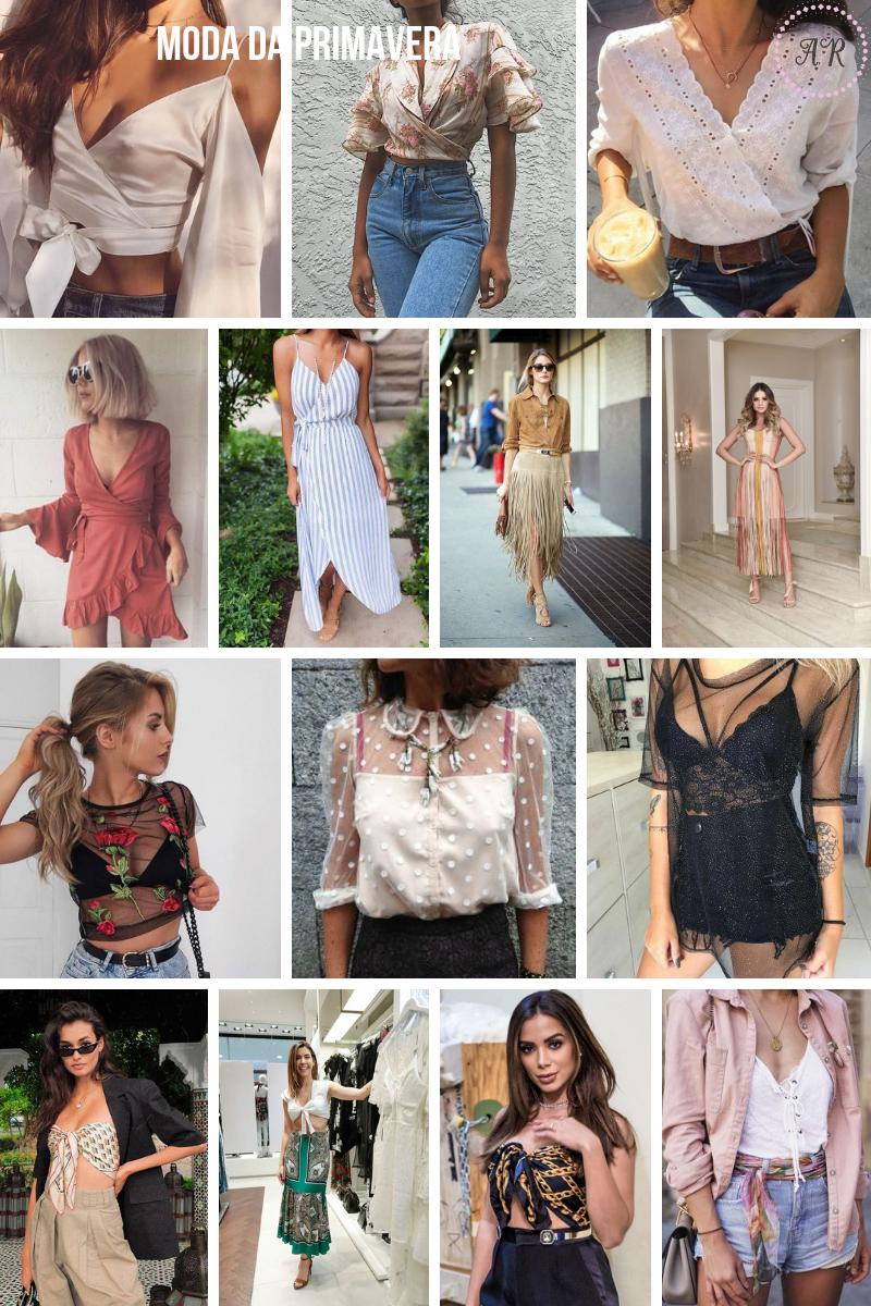tendências de moda primavera 2018