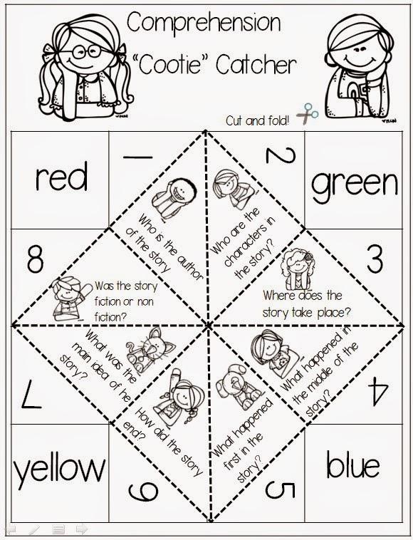 1st Grade Hip Hip Hooray!: Comprehension Freebies