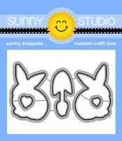 Sunny Studio Stamps: Introducing Spring Greetings Coordinating Metal Cutting Dies