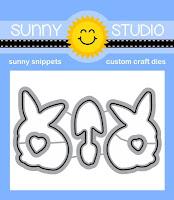 Sunny Studio Stamps: Introducing Spring Greetings Coordinating Metal Cutting Dies