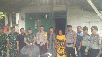 Warga Desa Bauh Gunung Sari Sekampung Udik Terkejut Didatangi Iringan Polisi dan TNI