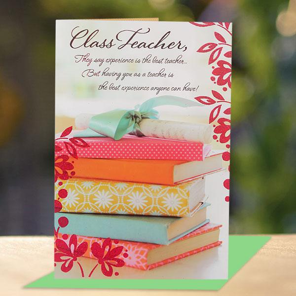 teachers day card  how to make a homemade teacher's day card