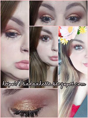 Red and Gold Eyeshadow Tutorial