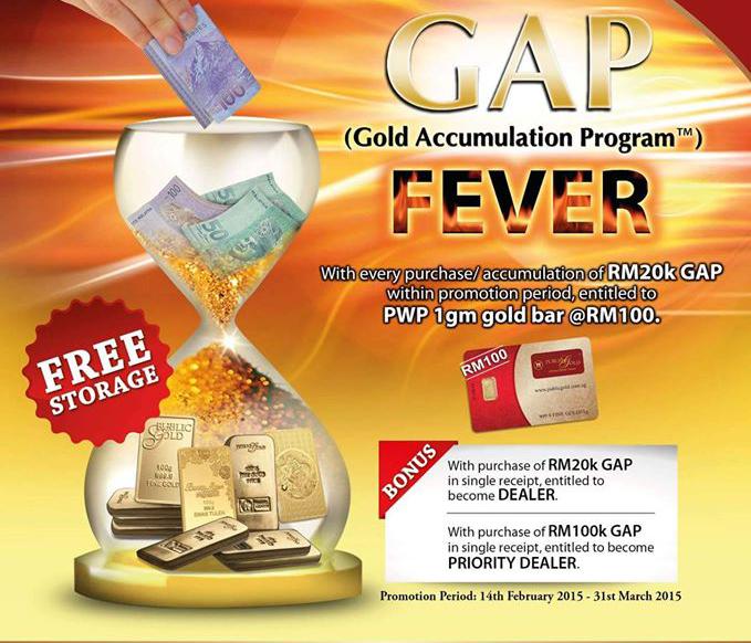 Panduan Buka Akaun Emas ( GAP ) Public Gold
