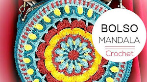 Bolso Mandala a Crochet para tejer en casa