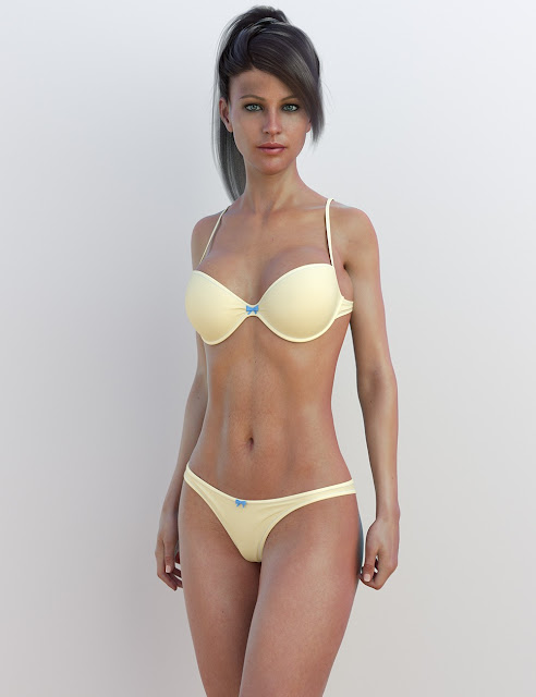 Sunny Bikini for Genesis 8 Female