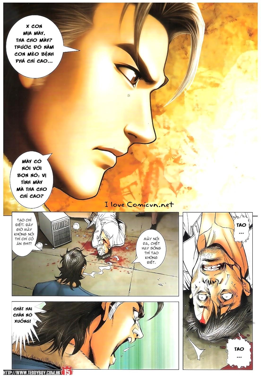 Người Trong Giang Hồ chapter 1696: giết vào vượng giác trang 14