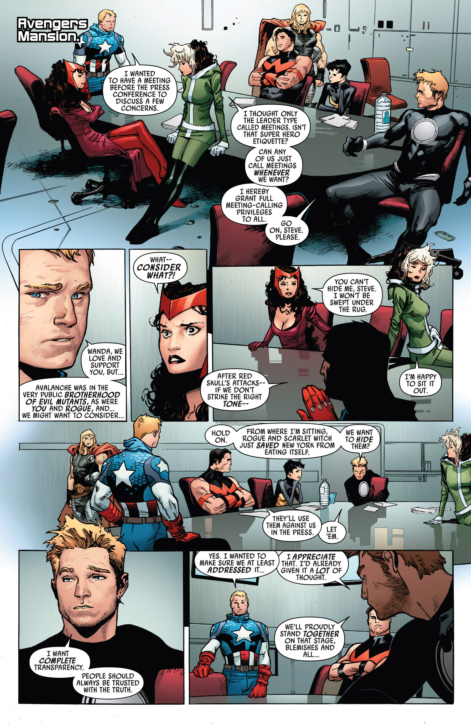 Read online Uncanny Avengers (2012) comic -  Issue #5 - 13
