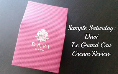 Sample Saturday: DAVI Le Grand Cru Cream Review