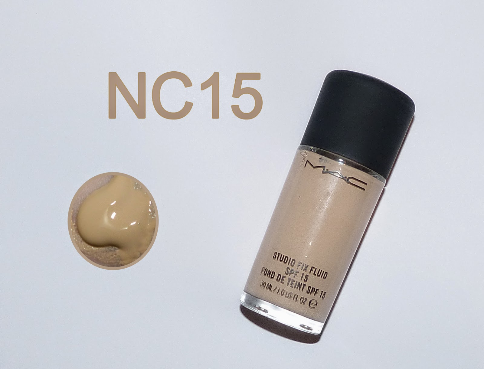 Base MAC Studio Fix Fluid - cor NC15