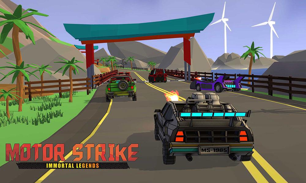 Motor Strike videojuego PS4