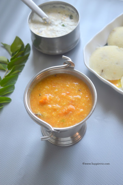 Tiffin Sambar Recipe | Moong Dal Sambar