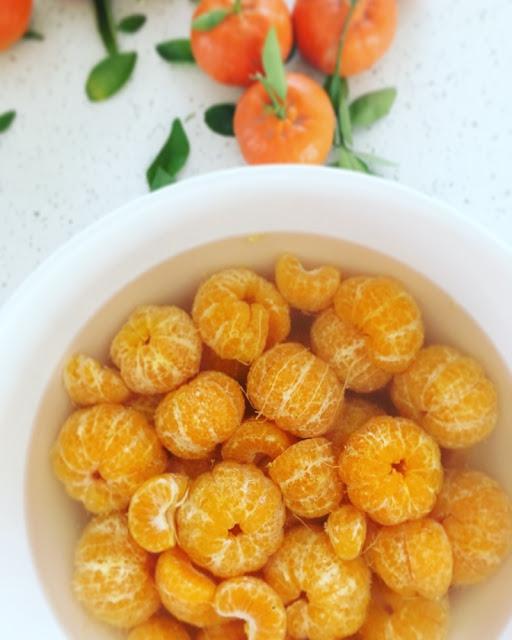 Mandarinas en conserva