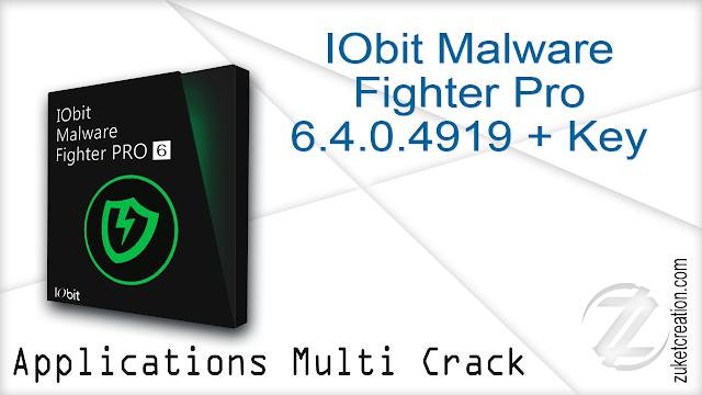 IObit Malware Fighter Pro 6.4.0.4919 + Key