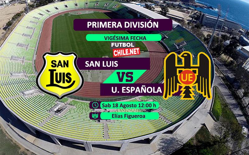 PREVIA: San Luis vs Unión Española
