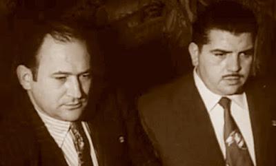 Los ajedrecistas del Club Ajedrez Español Joan Torquet y Enric Bayés Muñoz