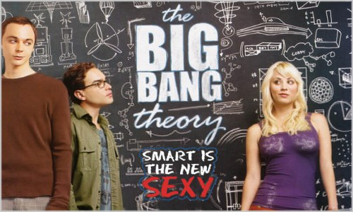 a inteligência é o novo sexy the big bang theory