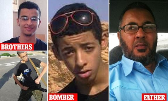 Manchester bomber's father and brothers have been arrested. Brother knew of atrocity and was planning his own massacre