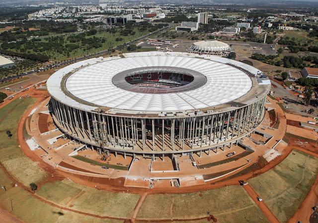 Obras externas no Estádio Nacional