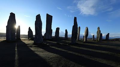 megalitos de 5.000 años de antiguedad del reino unido