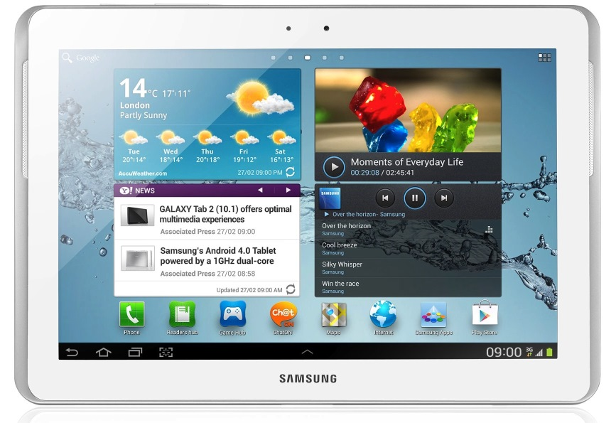 Android galaxy tablet advantages