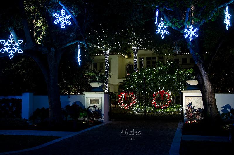 Christmas Lights Neighborhood