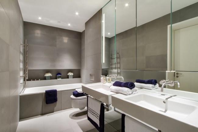 Fotos de ba os minimalistas colores en casa for Casa minimalista 6 x 12