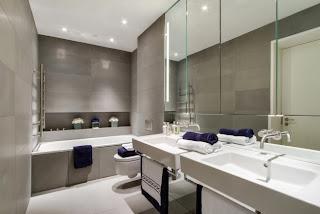 Decoración de baño minimalista
