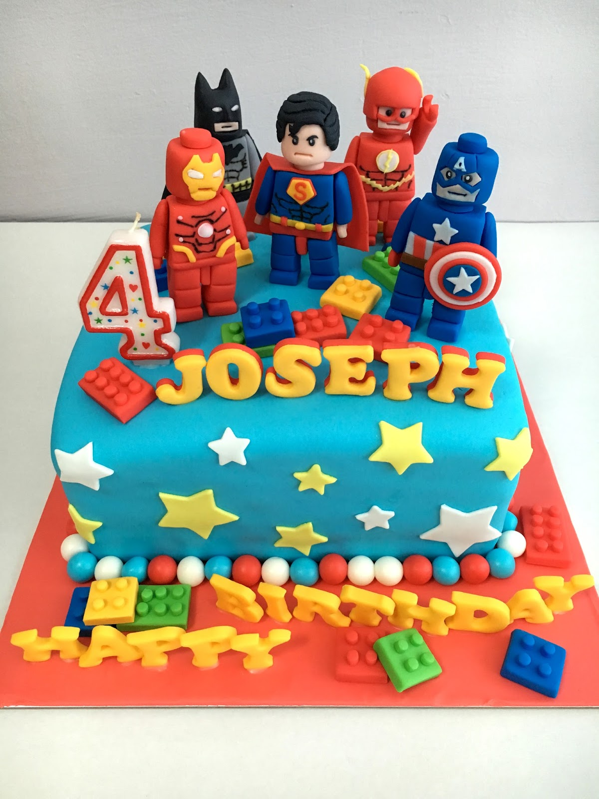 Oven Creations Happy 4th Birthday Joseph