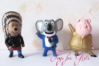 Игрушки Хеппи Мил из Спивай (Зверопой) коала, хрюша и дикообраз