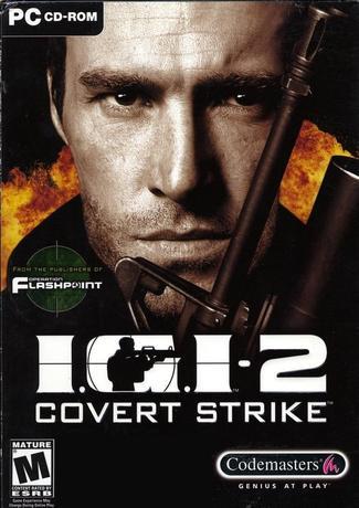 IGI 2 Covert Strike PC Game Cover Art