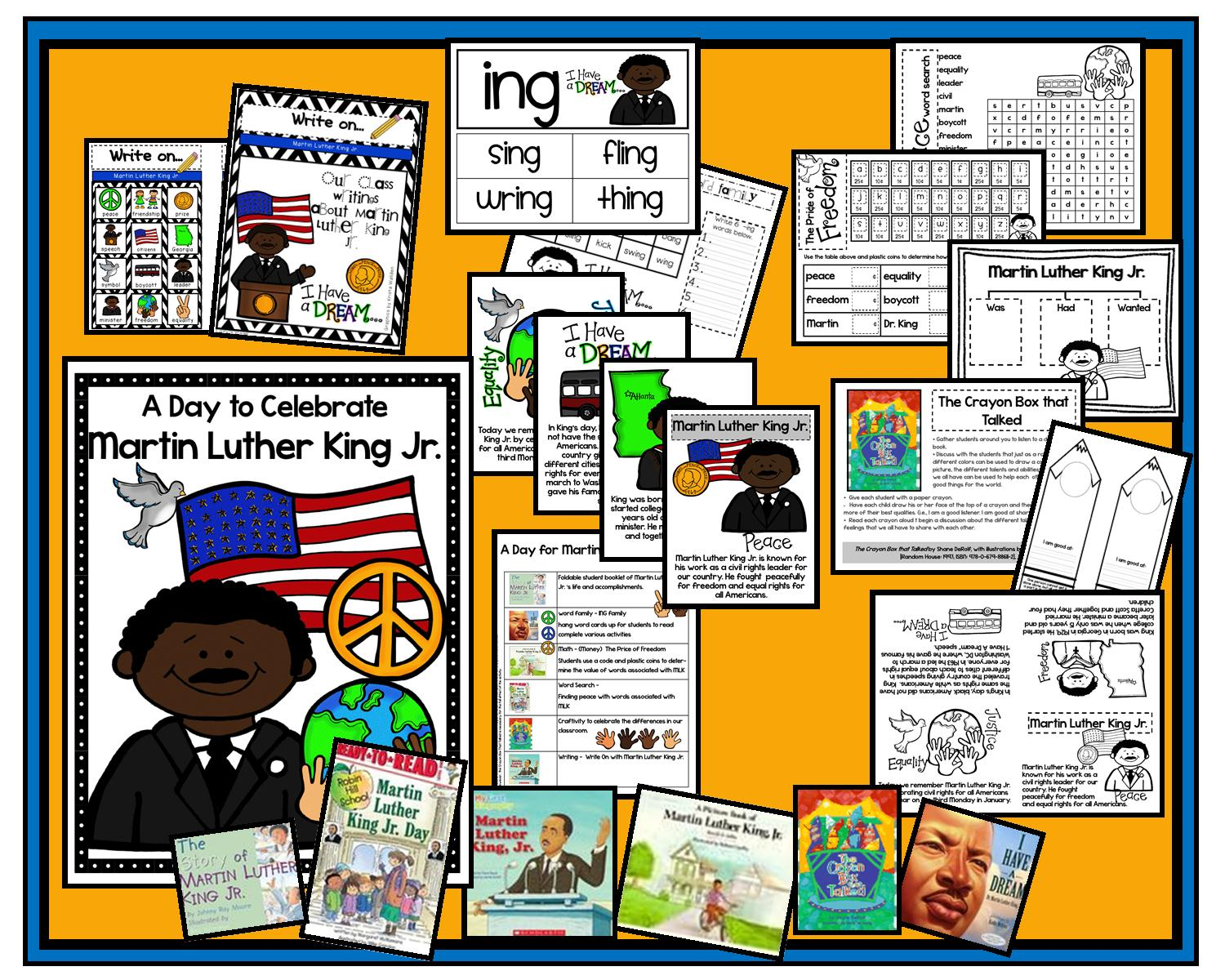 Lory S 2nd Grade Skills A Day Full Of Martin Luther King Jr