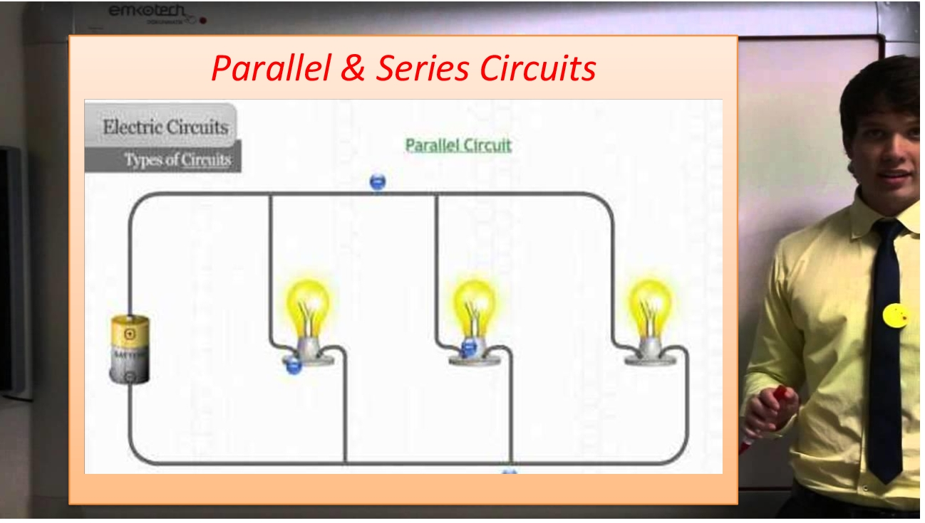 Lesson Plan Of Types Electric Circuits Parallel Series Picture About And Define Current Make Circuit