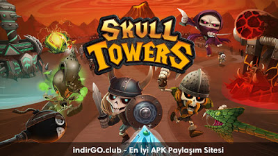 Skull Towers - Castle Defense APK