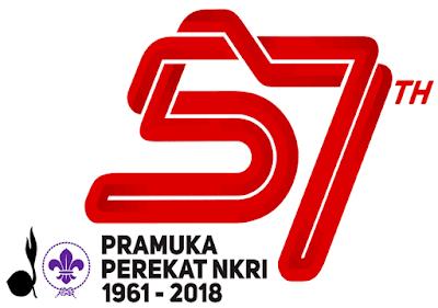 Tema dan Logo Hari Pramuka Ke 57 Terbaru 2018